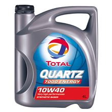 OLEJ TOTAL 10W-40 QUARTZ 7000 4L ENERGY